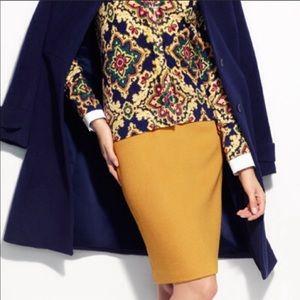 Talbots Sunny Yellow Pencil Skirt 😎